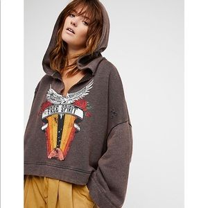 FREE PEOPLE you decide hoodie oversized sweatshirt